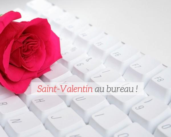 Une saint-valentin au...bureau : entre collègues, ça se fête aussi!