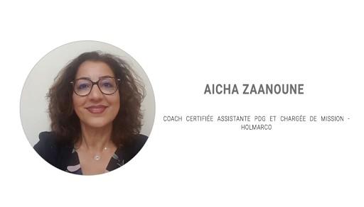 Témoignage des intervenants lors du Salon des Assistantes 2018: Aicha ZAANOUNE