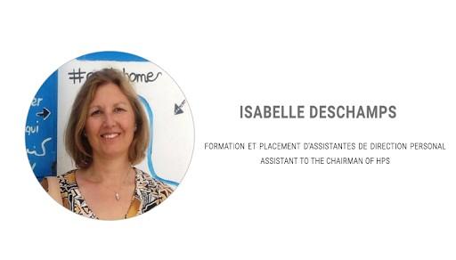 Témoignage des intervenants lors du Salon des Assistantes 2018: Isabelle DESCHAMPS